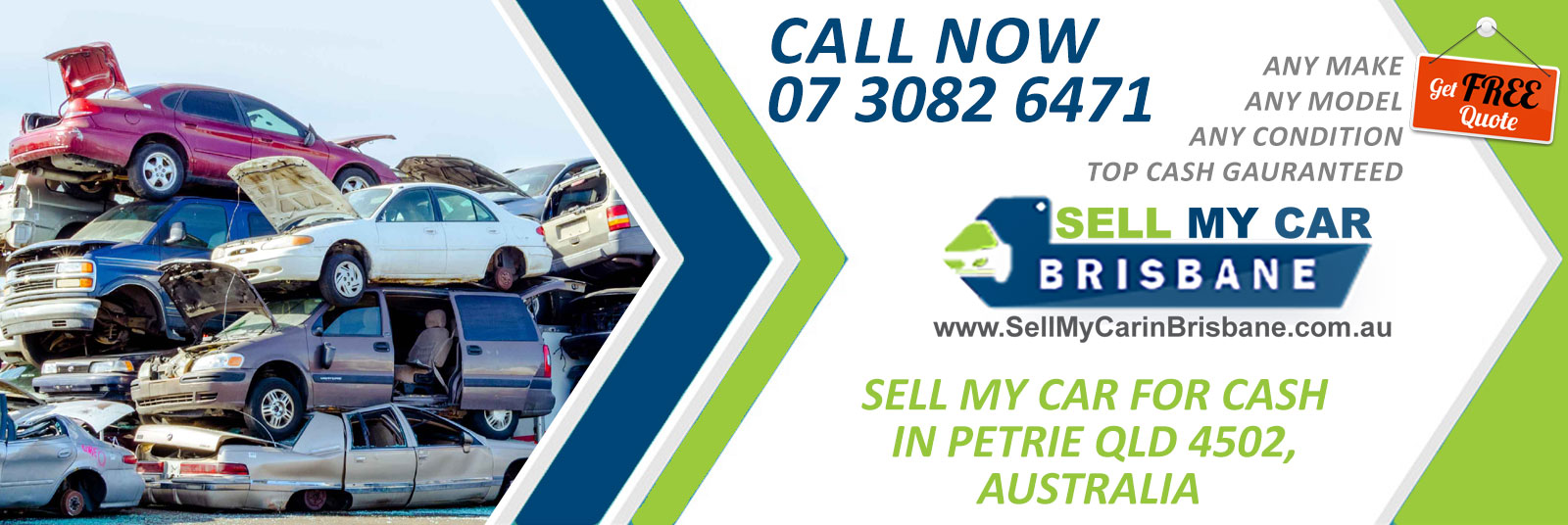 Sell my Car in Petrie
